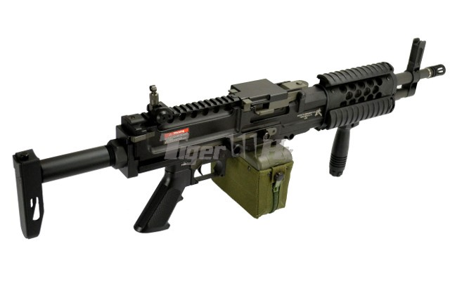 Ares Knight S Armament Licensed Stoner Lmg Aeg Lmg Black
