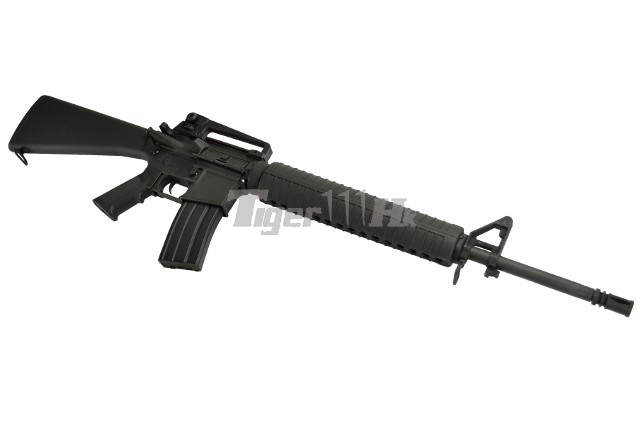 CYMA M16A3 AEG Assault Rifle (Black) Airsoft Tiger111HK Area M16a3 Assault Rifle