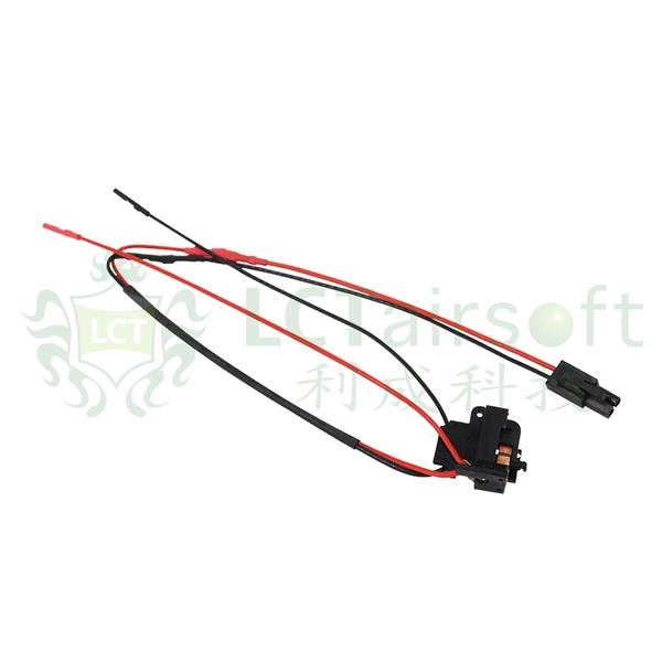 lct front wire butt stock switch assembly for m4 aeg rifle airsoft tiger111hk area