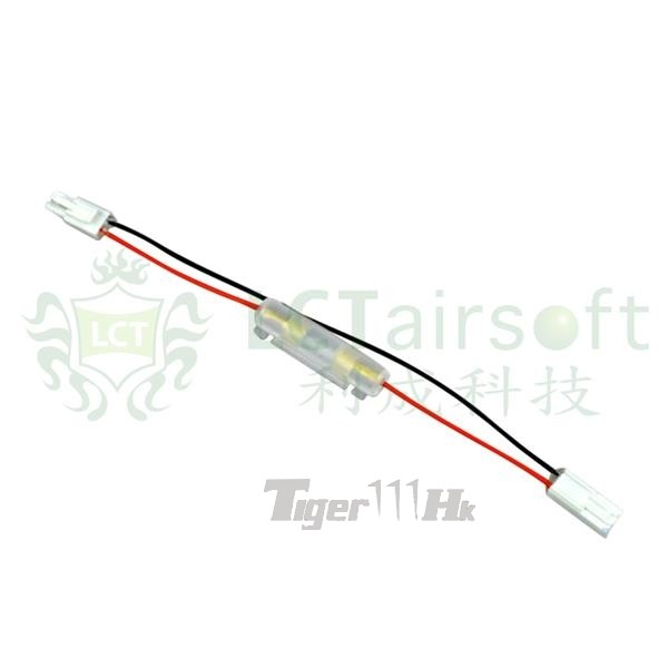 lct aeg gearbox rear wire fuse assembly airsoft tiger111hk area