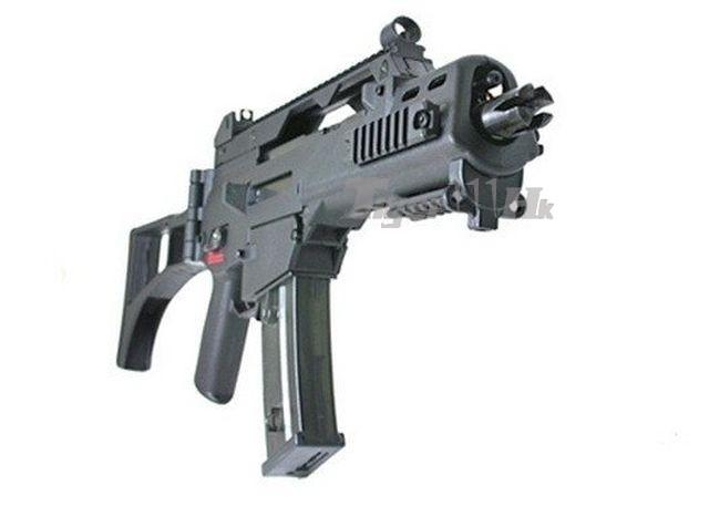 Classic Army CA36C G36C Sportline AEG Rifle (Black)