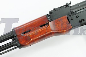A.P.S. AK74N Foldable Stock AEG Rifle (Wood)