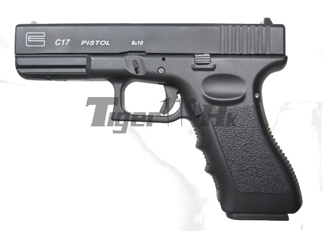 GAS G17 Light Aluminum Metal Slide GBB Pistol (GC17)
