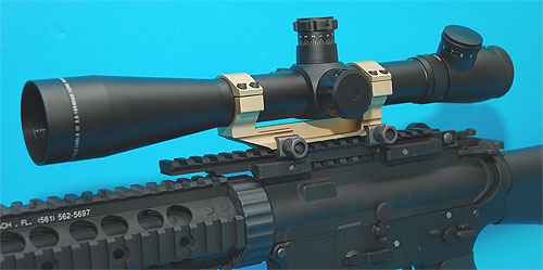 G&P-30mm Dual Scope Mount (L) (Sand)