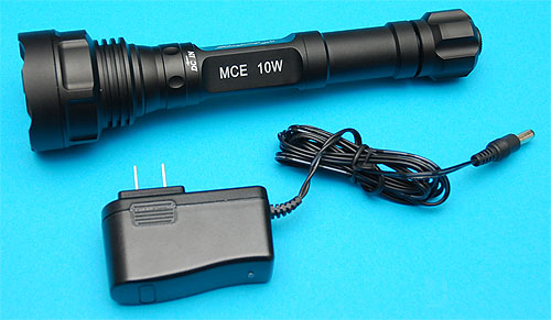 G&P MCE 10W LED Rechargeable Flashlight