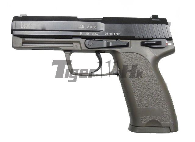 JX H&K Metal Slide USP .45 GBB Heavy Pistol (od)