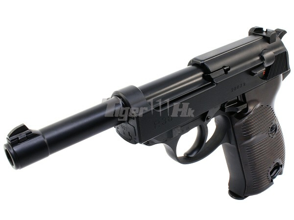 Maruzen P38 Gbb Pistol Black Ac41 Airsoft Tiger111hk Area