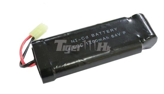 COOL 8.4v 1200mAh Battery (Ni-CD)(Medium Size Type)(Mini ...