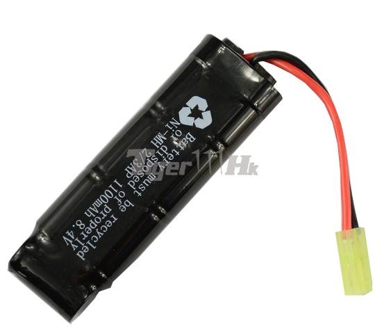 Cool 8.4v 1100mAh Battery (Ni-MH)(Mini Type)(Mini Plug ...
