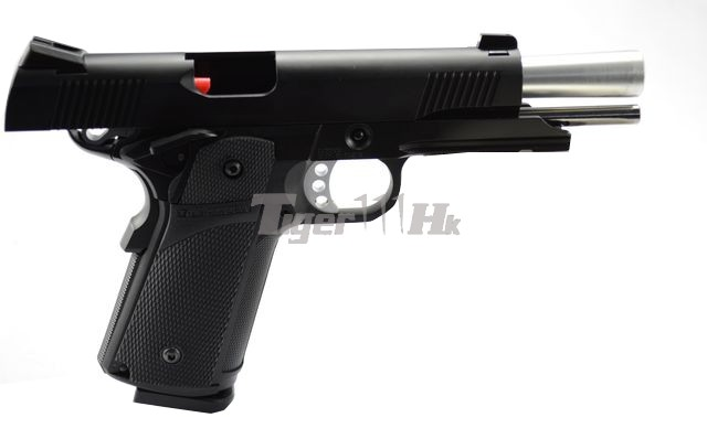 Kjw Metal High Capa 4 3 Koba Grip Gbb Black Kp05 Airsoft