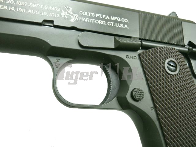 TERCEL M1911A1 Colt Government METAL GBB Pistol (OD)