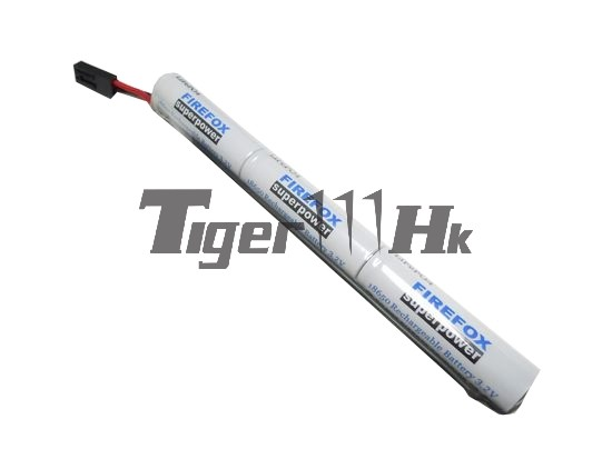 Firefox 11.1V 1300mAh Stick 12C Type Li-ion Battery