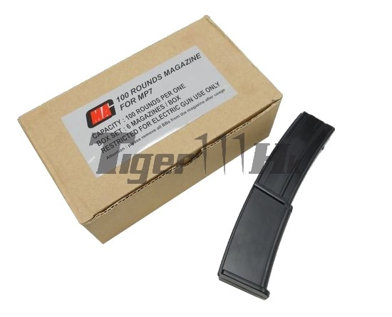 MAG 100rds AEG LONG Magazine (6pcs) for MP7