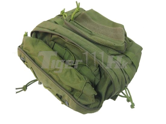 EAIMING 1000D CORDURA® Foldable MOLLE Backpack (OD)