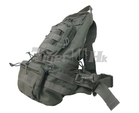 EAIMING 1000D CORDURA® Foldable MOLLE Backpack (Ranger Grey)