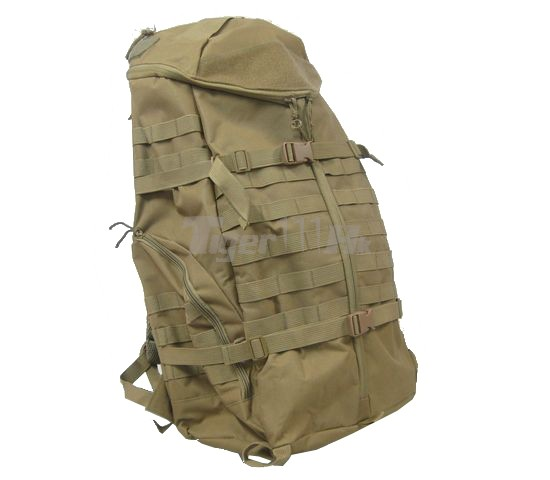 EAiming Tri-Zip Hydration Backpack (Coyote Brown )