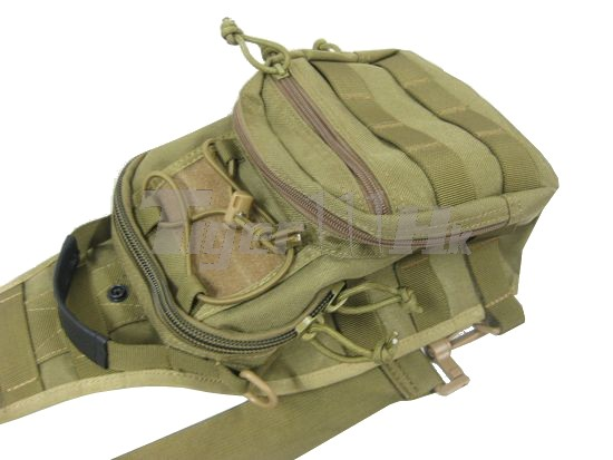 EAIMING 1000D CORDURA® Utility Gear MOLLE Shoulder Bag (DARK EARTH ...