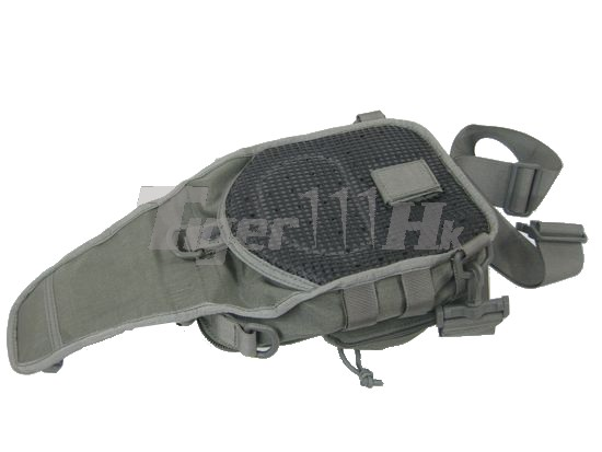 EAIMING 1000D CORDURA® Utility Gear MOLLE Shoulder Bag (Ranger Grey)