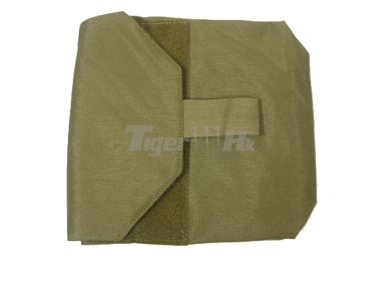 "This Mask/Utility Pouch is designed for Molle Attachments Elastic opening to prevent the mask from falling out Also, this pouch can be used to carry your tactical accessories CORDURA Fabric Construction Can be attached to any 1"" webbing vest, bag, platform, backpack....etc 4 rows of attachment points at back of the pouch"