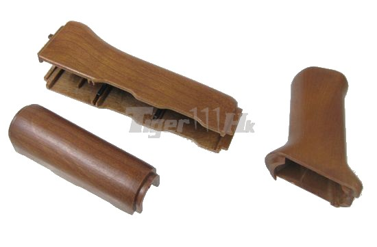 Jing Gong AEG AK47 Handguard & Grip for AK Series (Wood)