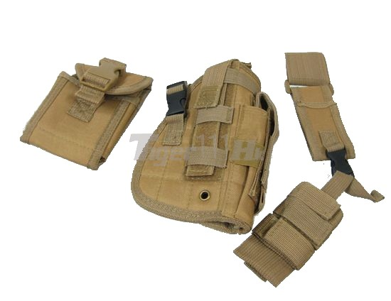 Strengthen Tactical Fly Universal Right Pistol Holster (CB)