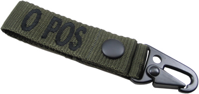 King Arms  Blood Type Strap Holder - B - OD