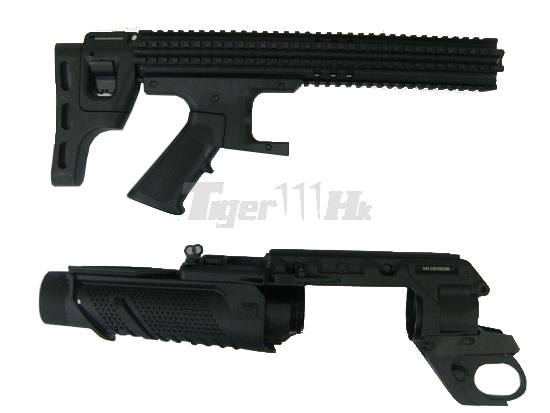 SEALS H-05 plus H-03 SCAR Heavy Grenade Launcher (Black)