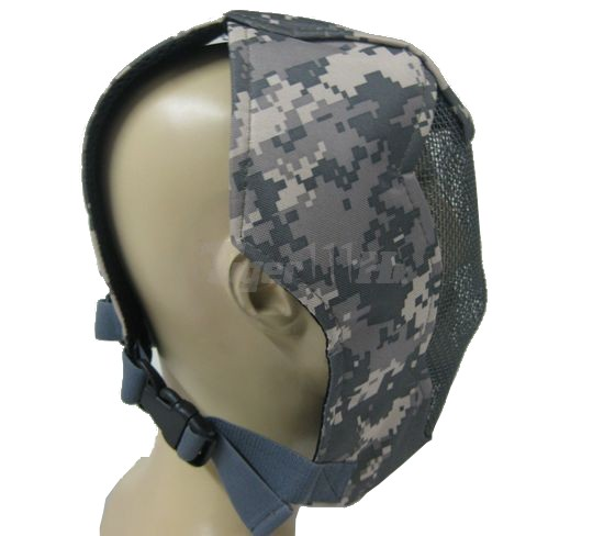 EAIMING Ver.II Metal Steel Reticular Full cover Face Mask (ACU)