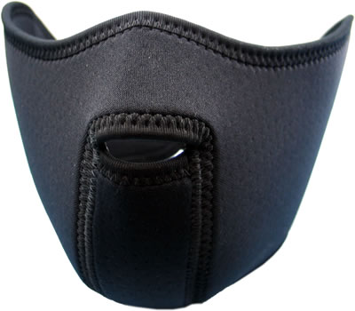 King Arms Neoprene Mask (Half)-Black