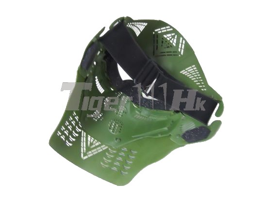 Protect Tactical ABS Slice Len Skirmish Full Mask (OD)