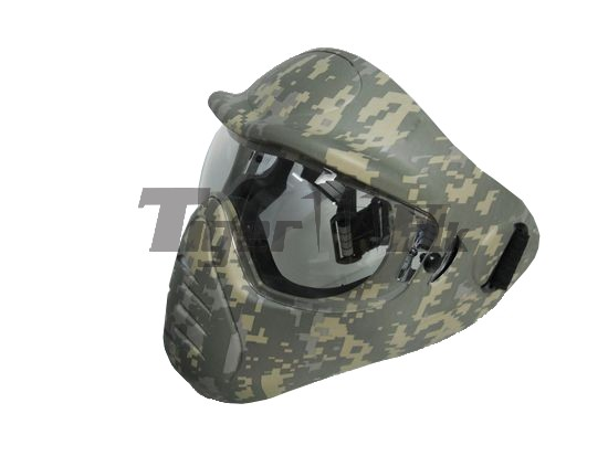 NOB Heavy Duty FULL Face Mask with Anti-Fog Lens (ACU)