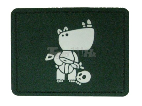 EAIMING glow combat hippo patch – Color OD