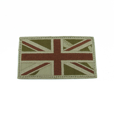 King Arms IFF UK Embroidery Flag - TAN