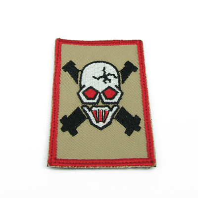King Arms Devgru Gold Shooter Team Embroidery Patch - TAN