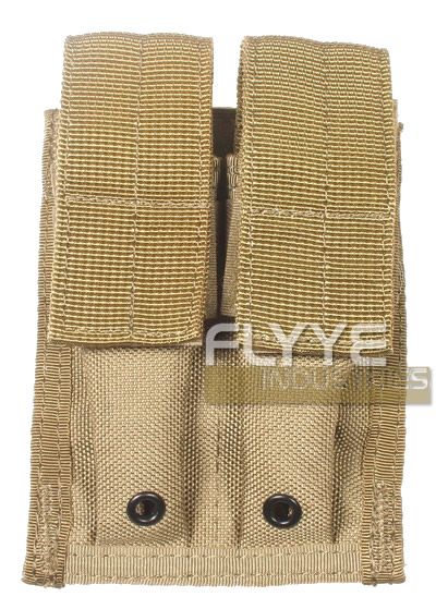 FLYYE MOLLE Double 9mm Mag Pouch