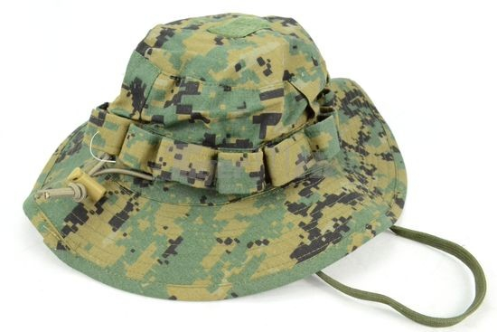 Delux Version Hat Woodland Camouflage Pattern with Top Velcro Breathable  design  6598803fa80