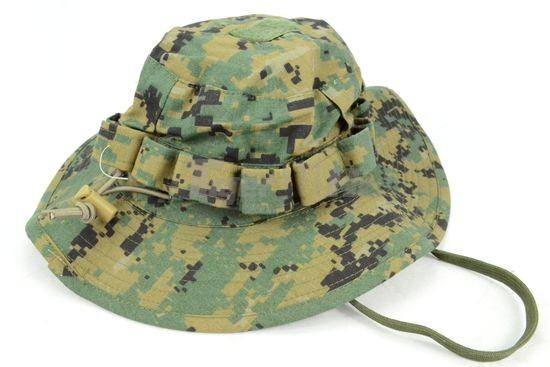 6befdfdabfa TMC Nylon Marpat Boonie Hat With Top Velcro -Woodland Camo Airsoft ...