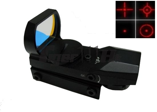 EAIMING IPSC TACTICAL 4 Reticle RED DOT Sight Scope