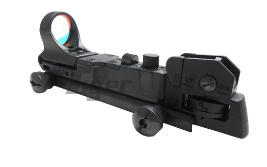 EAIMING SeeMore Red Dot Scope with LMT Rear Sight (BK)