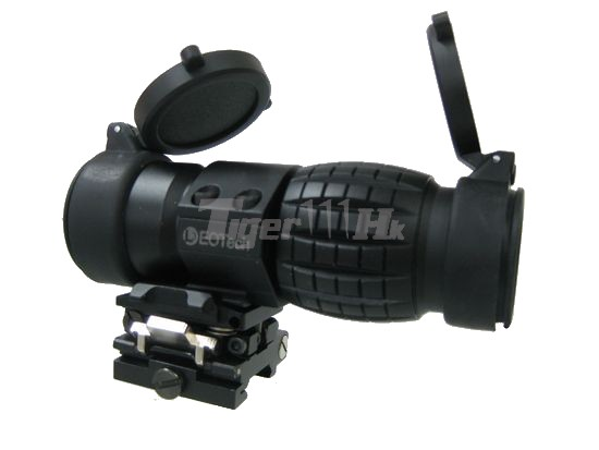 NOB 3X Magnifier Scope with EOT QD Flip-to-Side Mount