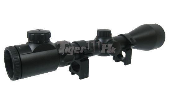 3-9x50GD Red/Green Illuminated Range Hunting Rifle Scope