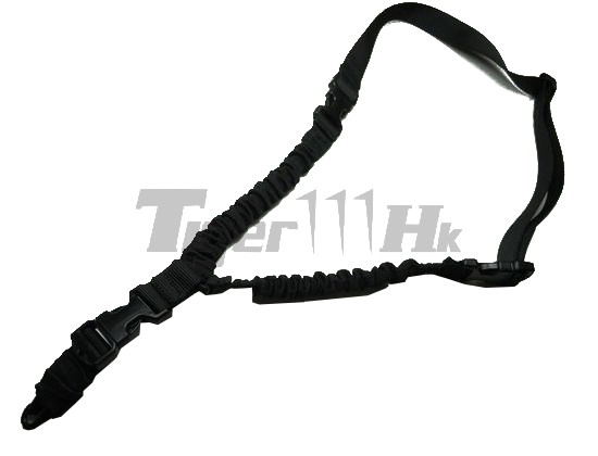 EAIMING 1000D-A QR Rifle Single/2- point High load Sling (BK)