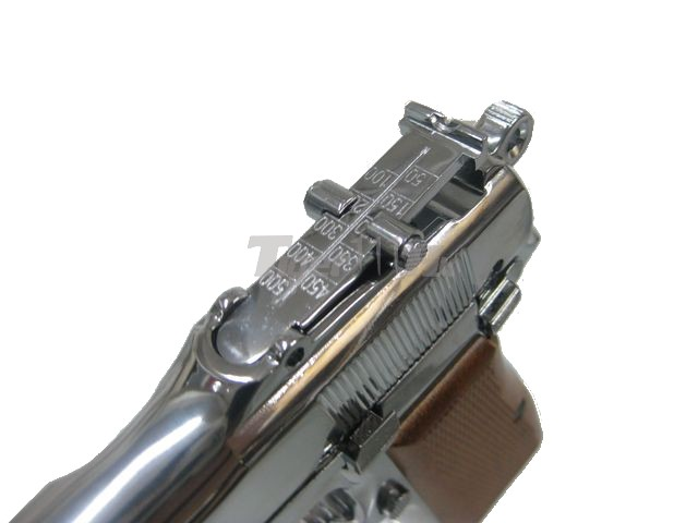 WE Browing Hi-Power 35 GBB Pistol (SV)