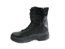 British Military High Air Flow Combat Boot with Zipper - Black