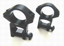 "1""/25mm HIGH See Through Quick Release Scope Ring Mount"