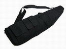 "9.11 Tactical Series 47"" Sponges AEG Rifle Carrying Case Bag -BK"