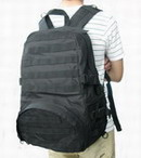 US Army Patrol Fully MOLLE System Backpack - Black