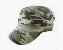 4-Color Woodland DAY Camouflage Patrol Cap