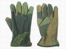 Tactical Military Skidproof Full Flight Glove -Woodland camo WC