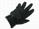 Amara Leather Full Finger SOS Glove -Black